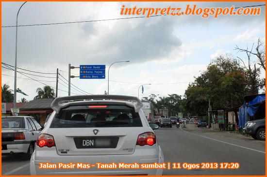 Idul Fitri 13 - Jalan sumbat raya ke-4