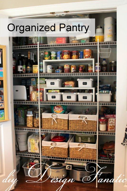 Diy Design Fanatic Keep Your Pantry Organized