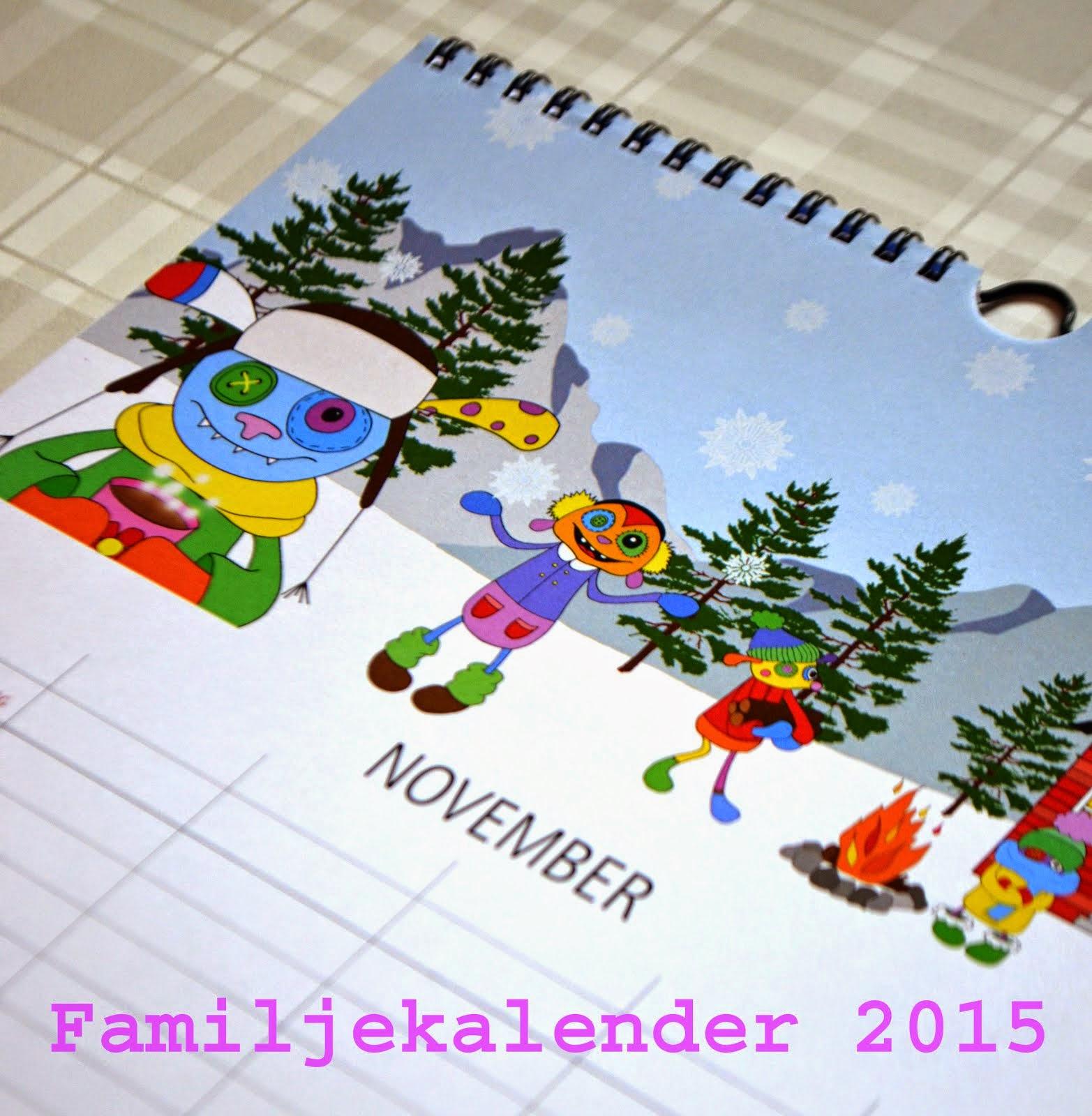 KÖP FAMILJEKALENDER 2015