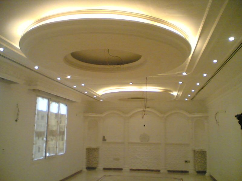 Italian gypsum board roof designs