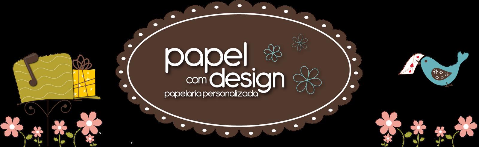 Papel com Design