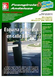 Boletín Enero 2012
