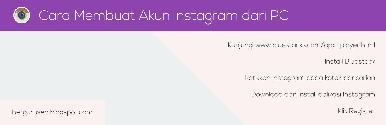 Cara Membuat Akun Instagram dari PC