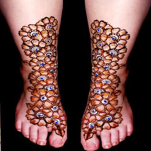 Feet Mehndi Mehndi Wallpapers Images : Foot mehndi design free download makedes