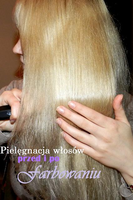 pielęgnacja włosów przed farbowaniem i po farbowaniu