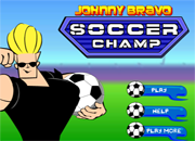 juegos de futbol Johnny Bravo Soccer Champ