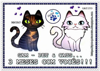Selinho fofo do Blog Gam - Pet &  Cats