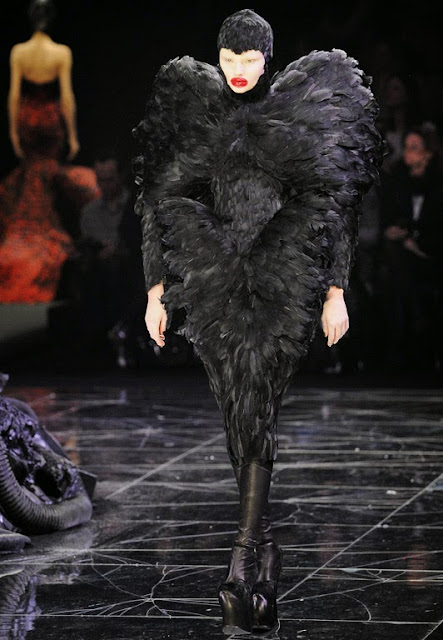 Alexander McQueen Dark Angel 2009