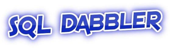 SQL Dabbler