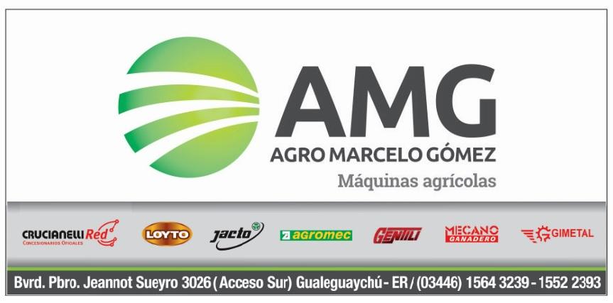 AMG - Agro Marcelo Gómez - Máquinas agrícolas