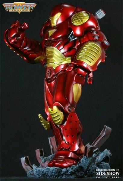 Estátua Homem de Ferro Hulkbuster