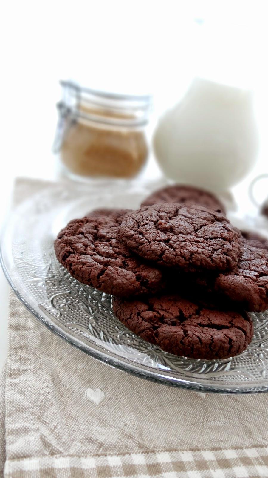 Biscotti al doppio cioccolato d Donna Hay - cookies