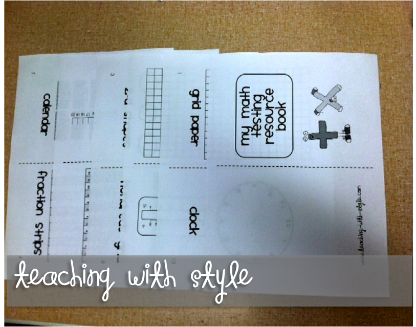 Math Resources Book - Teaching With Style