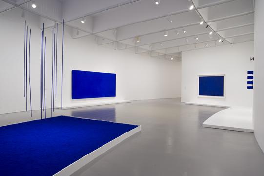 la historia narrada a trav s del arte yves klein la vida en azul. Black Bedroom Furniture Sets. Home Design Ideas