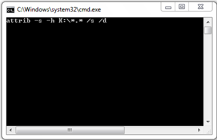 type / copy  those code and past in Command Prompt: