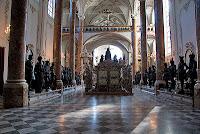 Tomb of Maximilian I in the Hofkirche in Innsbruck - Austria