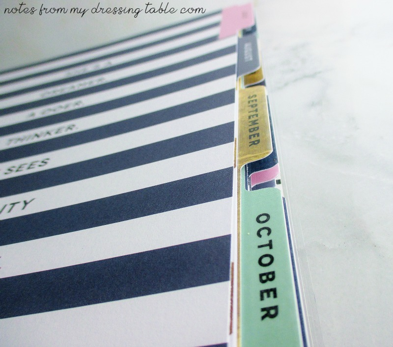 Happy Planner Review Laminated Tabs Details notesfrommydressingtable.com