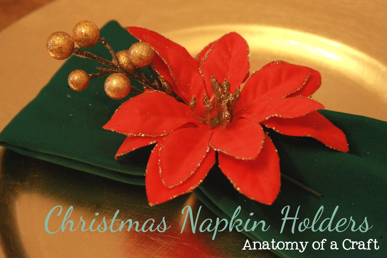Anatomy of a craft tutorial tuesday diy napkin