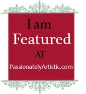 I was featured at Passionately Artistic!