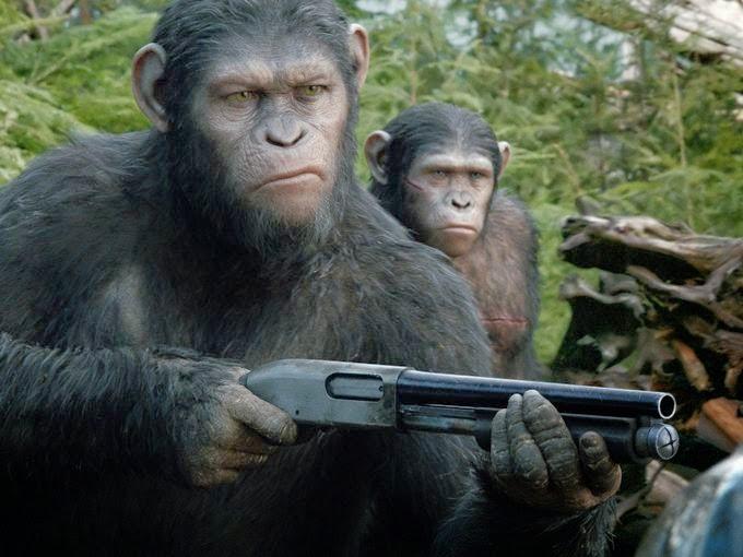 Планета обезьян 2014 первые стилы