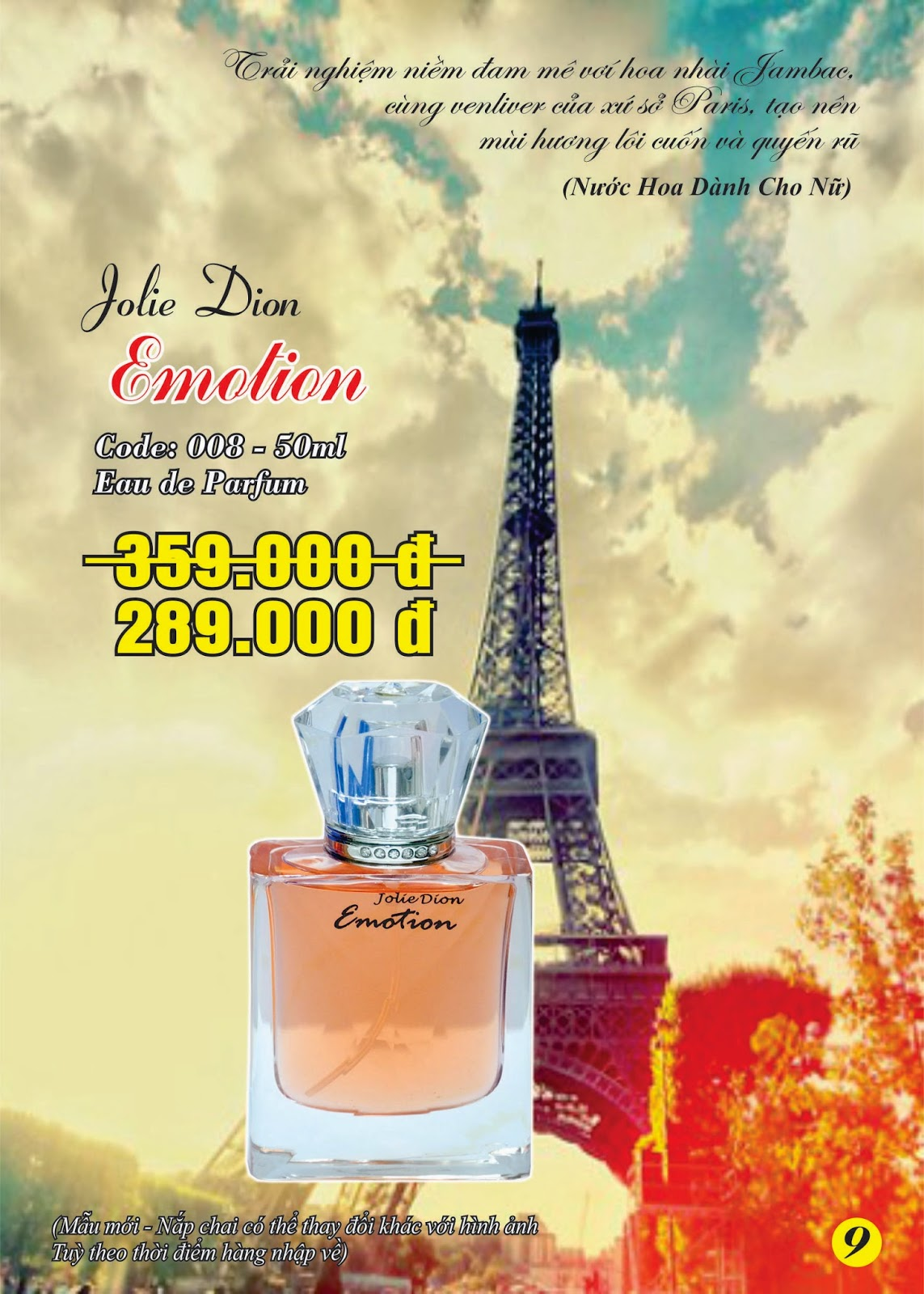 Jolie Dion Emotion For Women