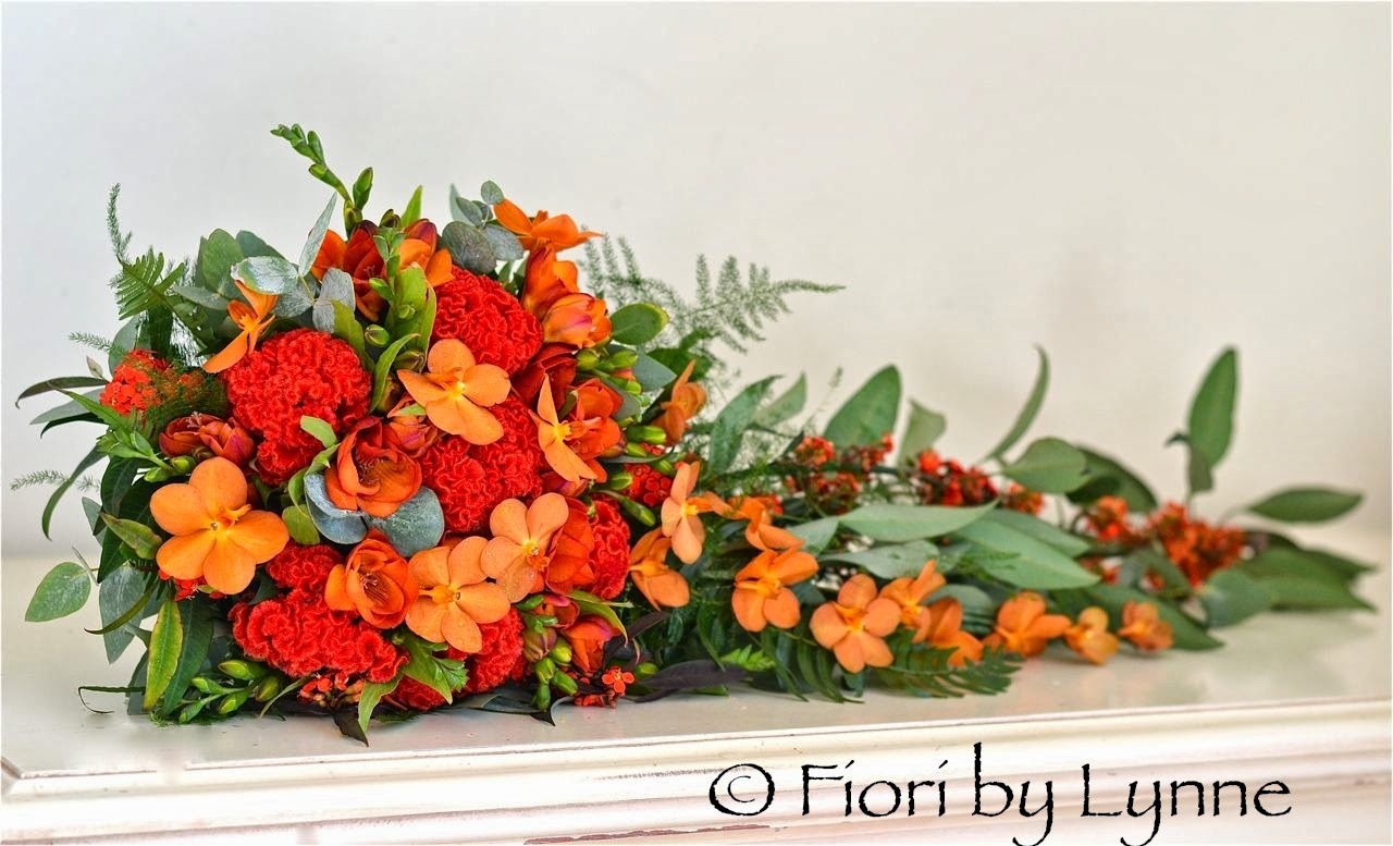 Wedding Flowers Blog Cats Exotic Red And Orange Wedding Flowers