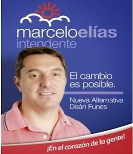 Marcelo Elías Intendente