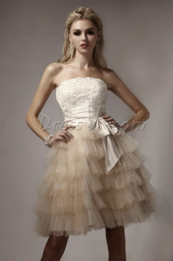 DressV Vintage Long Homecoming Dresses