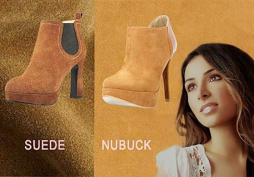 Perbedaan Suede Dan Nubuck