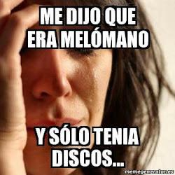 COLECCIONISTA - MELOMANO?