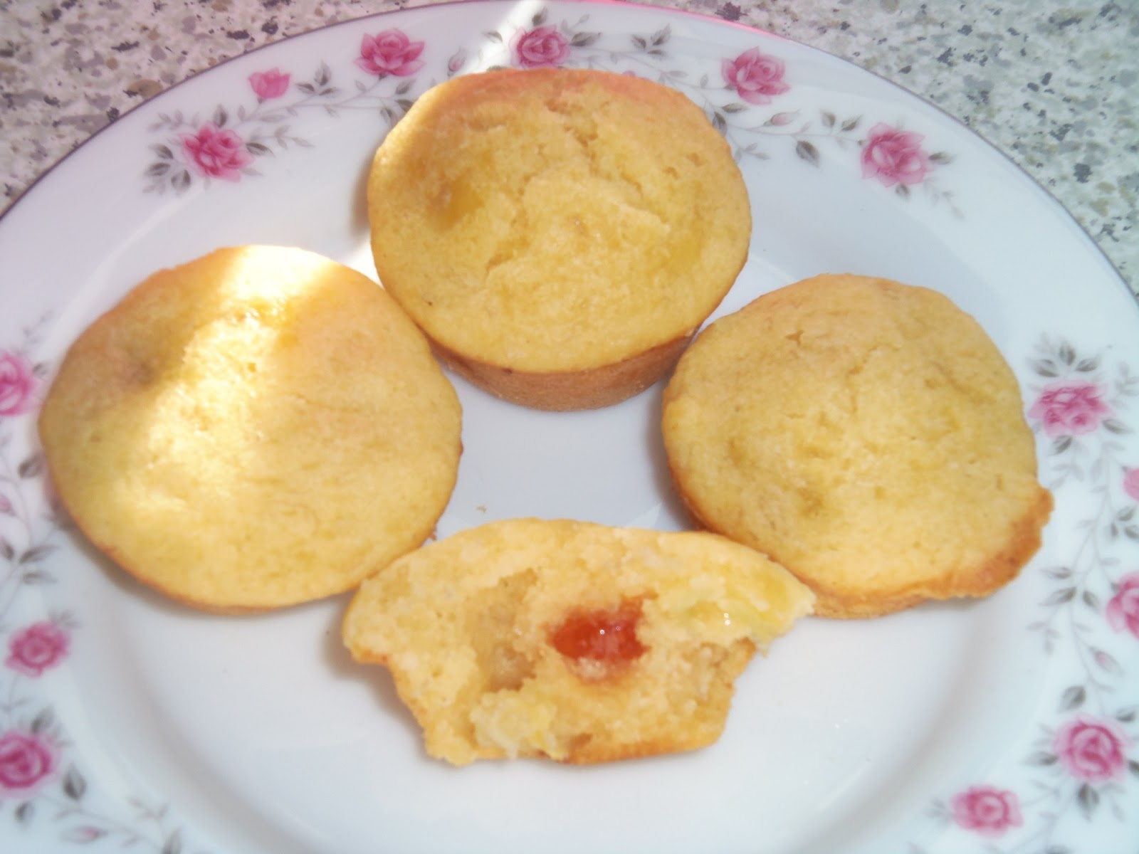Fun As A Gran Bob Made Banana Jelly Tot Cakes