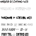 Anime Font (Naruto, Pokemon, One Piece, Bleach, and Fairy Tail)