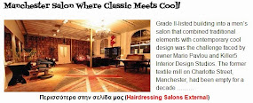 Manchester Salon Where Classic Meets Cool!