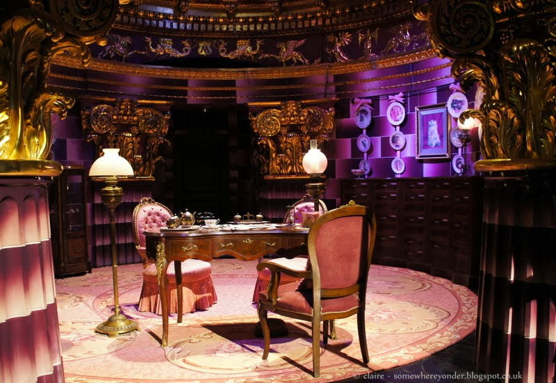 Dolores Umbridge's office - Harry Potter Warner Bros Studio Tour, Watford