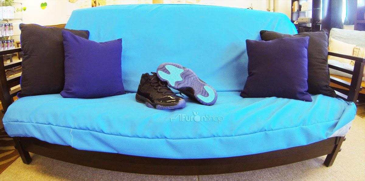 Air Jordan 11 Oreillers Gamma Bleu Pas Cher
