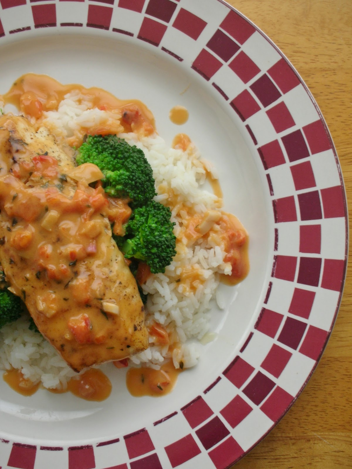 basil pan saut ed halibut with roasted red pepper beurre