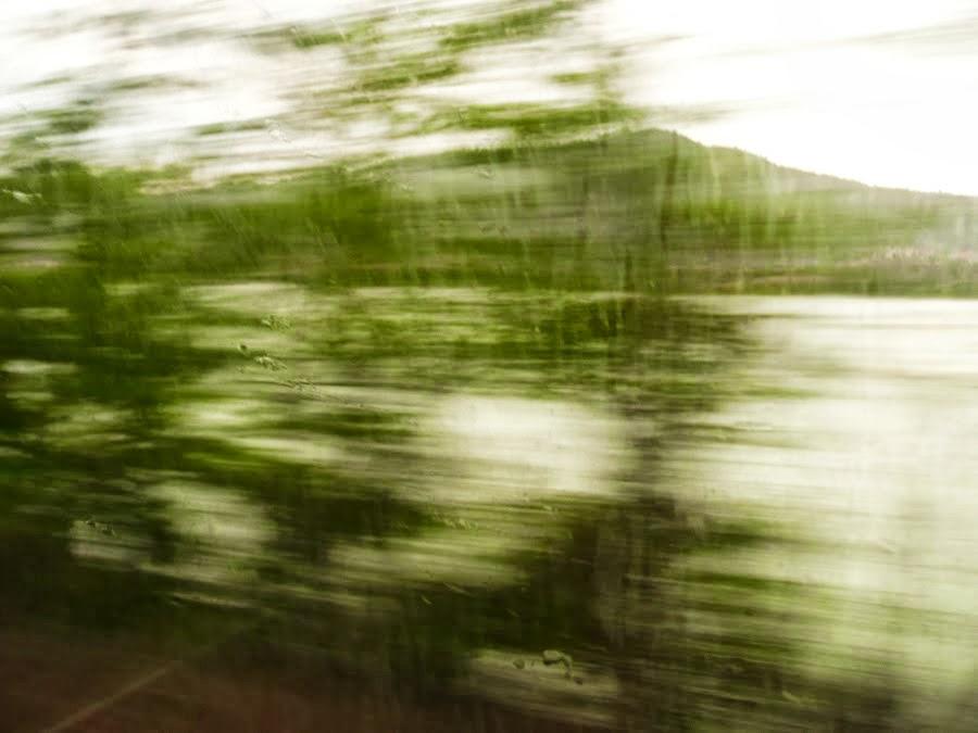 Lluvia en el Canfranero