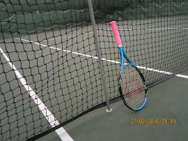 Tampereen Hervannan tennishallissa / kuplahallissa tennisharjoituksia sähköpostilla sopien Kiitos