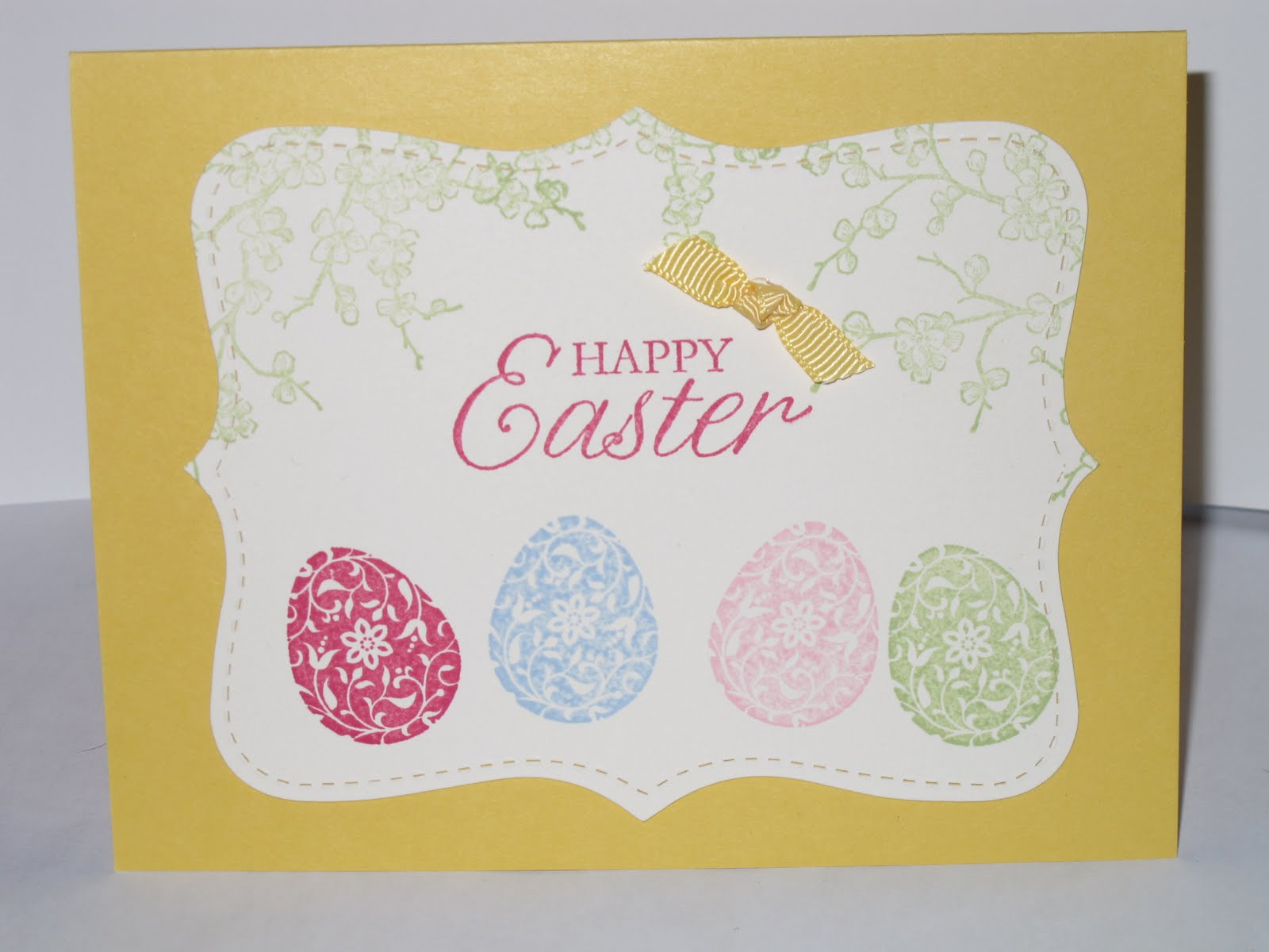 My Stamping Friends Happy Easter and Stampin Up Easter Blossoms – Easter Cards Stampin Up
