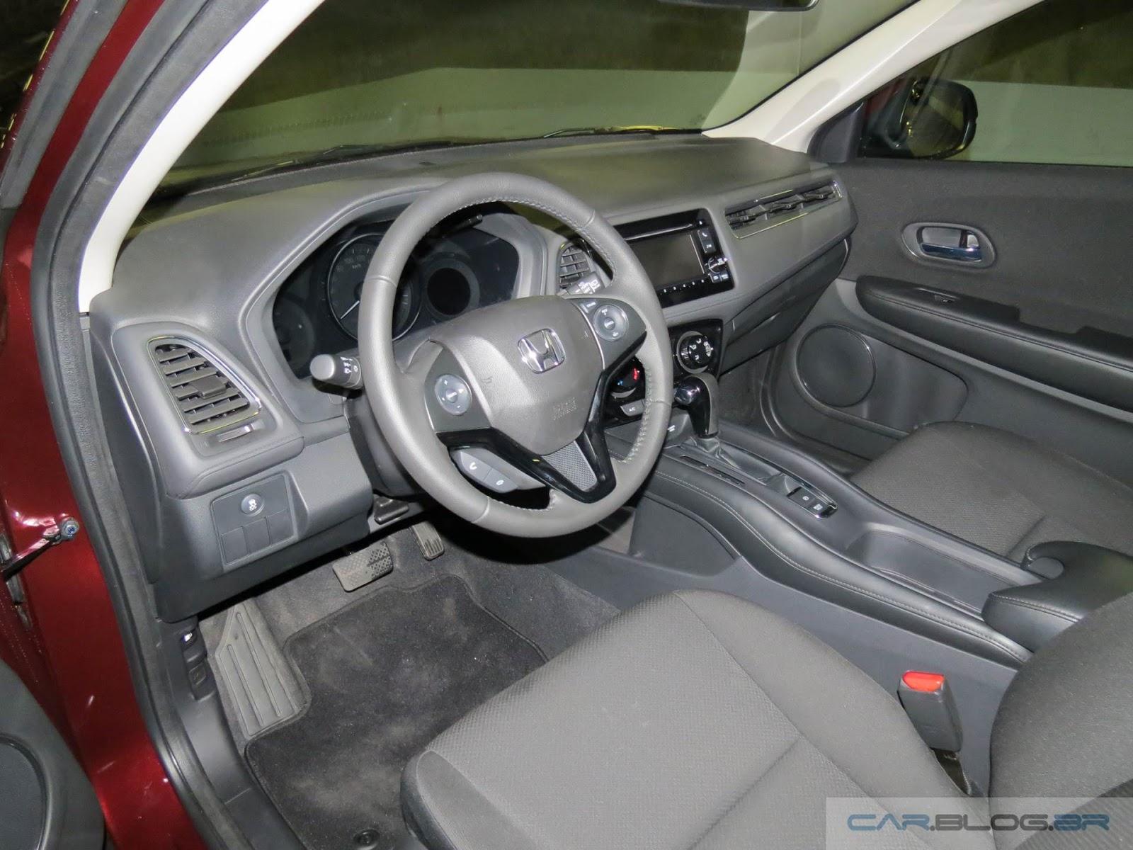 Honda HR-V EX - interior - espaço dianteiro
