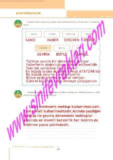 6.Sinif  Turkce Doku Yayinlari Ogrenci Calisma Kitabi Sayfa 40