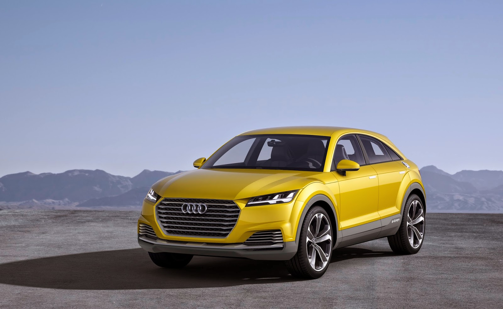 audi unveil tt plug in hybrid suv concept car video electric vehicle news. Black Bedroom Furniture Sets. Home Design Ideas