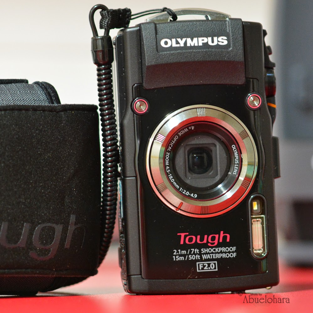 Olympus Tough TG-3 - Estudio