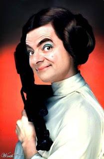 Gambar Mr. Bean yang lucu
