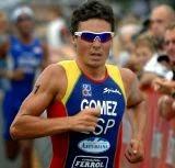 Gómez Noya en Campolongo