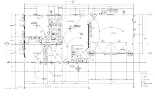 Floor plan is drawn to local building department requirements
