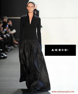 Princess Charlene Style - AKRIS Dress