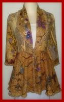 model blazer batik