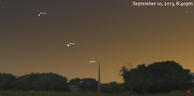 venus saturn spica september 10