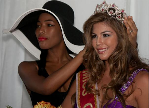 Miss Curacao World 2012 Stephanie Rose Chang